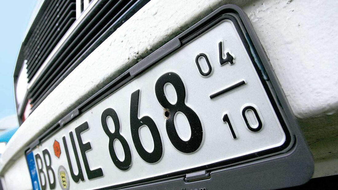 Nummernschild