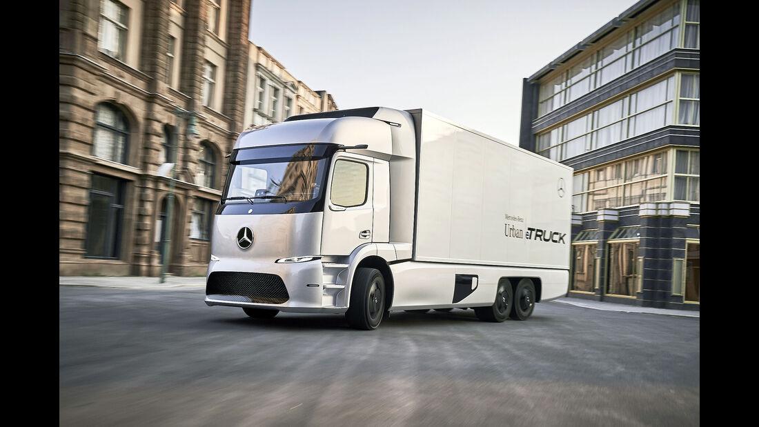 Nutzfahrzeug IAA Hannover 2016 – Weltpremiere Mercedes Urban e-Truck