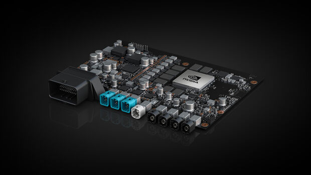 Nvidia Drive AGX Xavier, Prozessor für autonomes Fahren