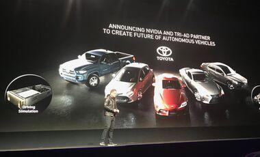 Nvidia Technik-Konferenz GPU, Jensen Huang