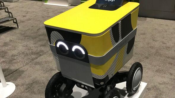 Nvidia Technik-Konferenz GPU, Postmates Serve