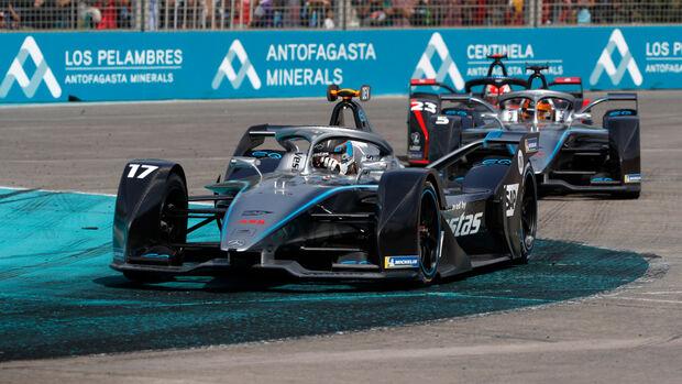 Nyck de Vries - Mercedes - Formel E - Chile 2020