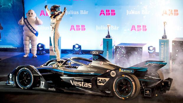 Nyck de Vries - Mercedes - Formel E - Riad 2021