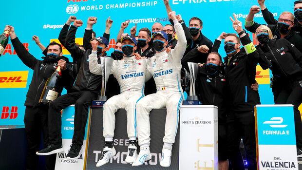 Nyck de Vries & Stoffel Vandoorne - Formel E - Valencia - 2021