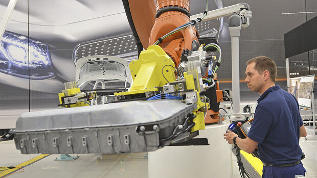 Ökobilanz Elektromobilität, Produktion e-Auto-Batterie