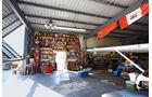 Öldosen, Regal, Garage