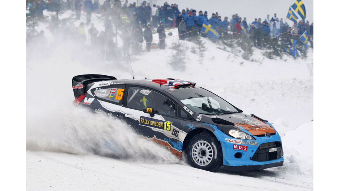 Östberg Rallye Schweden 2012 WRC
