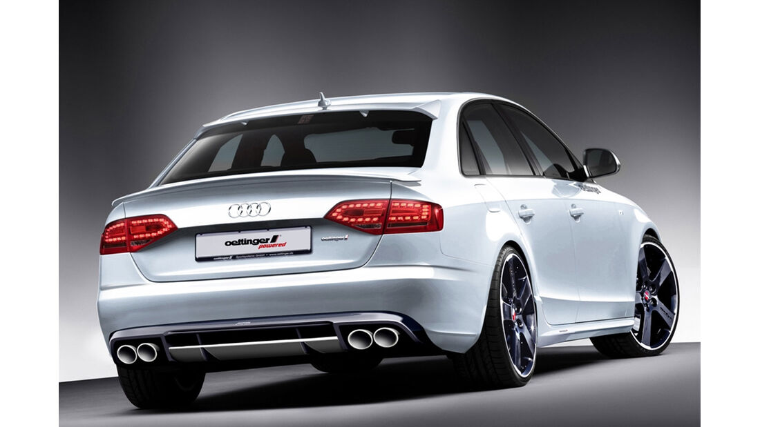 Oettinger Audi A4 - Tuning