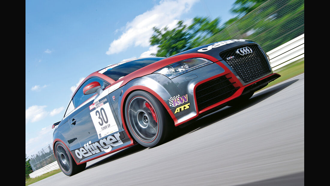 Oettinger-Audi TT RS-R, Frontansicht