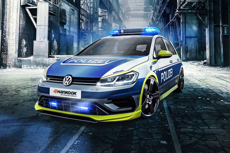 Oettinger VW Golf 400R Tune it Safe! 2017 Essen Motor Show