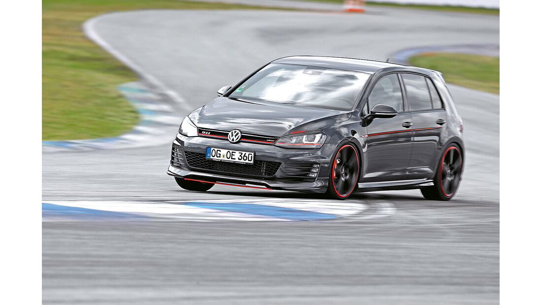 Oettinger VW Golf GTI, Frontansicht, Frontansicht, spa 05/2014