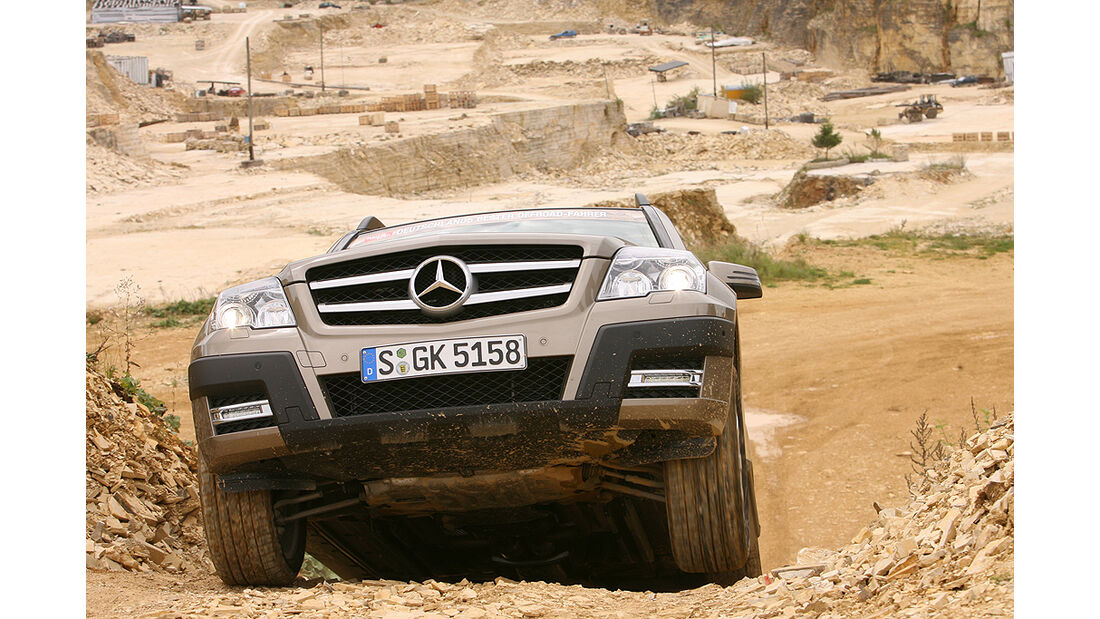 Offroad-Challenge 2010, Mercedes GLK