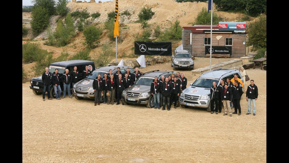 Offroad Challenge 2010, Mercedes Geländewagen