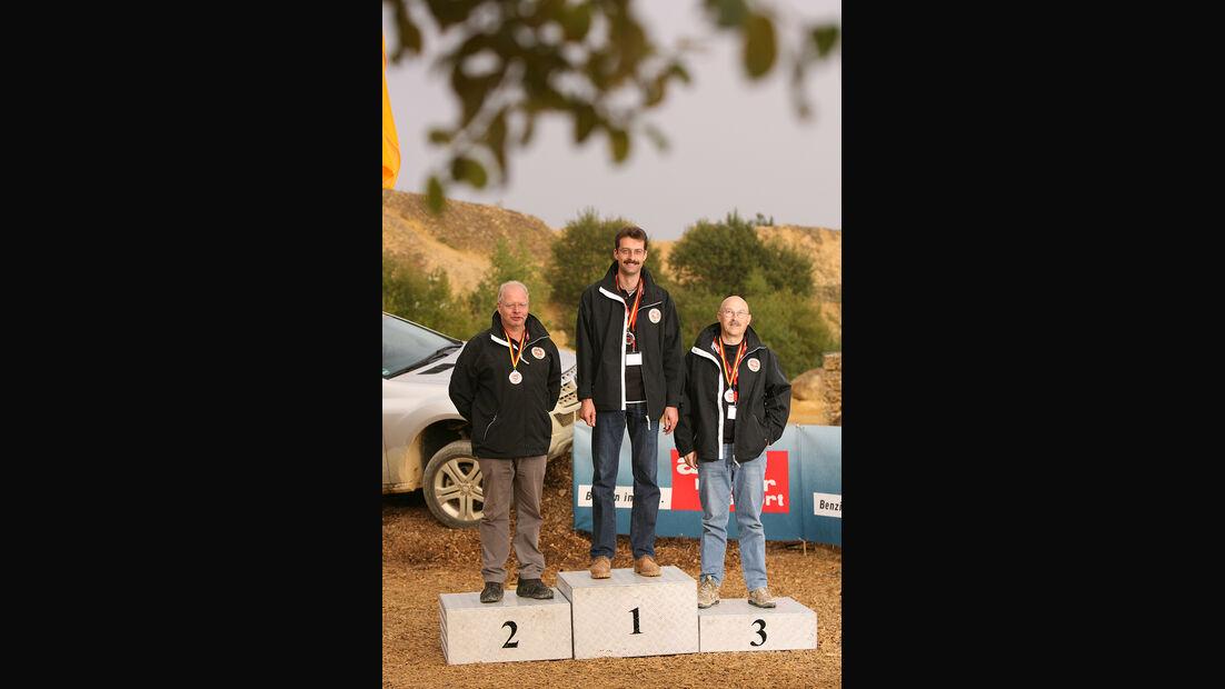 Offroad-Challenge 2010, Siegerehrung