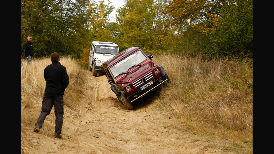 Offroad-Challenge, G-Parcour