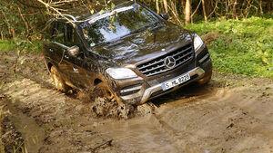 Offroad-Challenge, Mercedes, Gelände