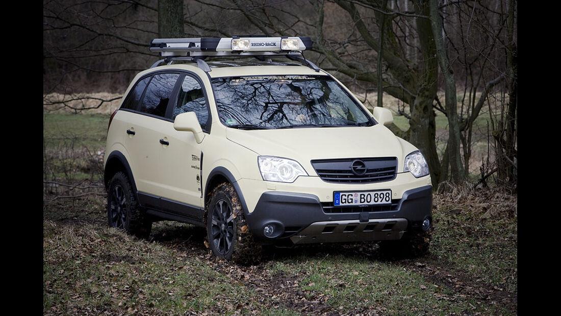 Offroad-Opel Antara Taubenreuther
