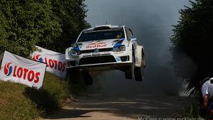 Ogier Rallye Polen 2014