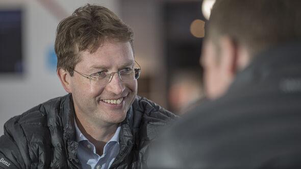 Ola Källenius AMS1317, Mercedes Entwicklungschef