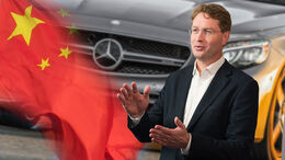 Ola Källenius Mercedes CEO China Corona Krise