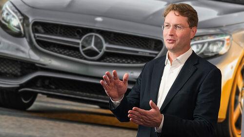 Ola Källenius Mercedes S-Klasse Coupé
