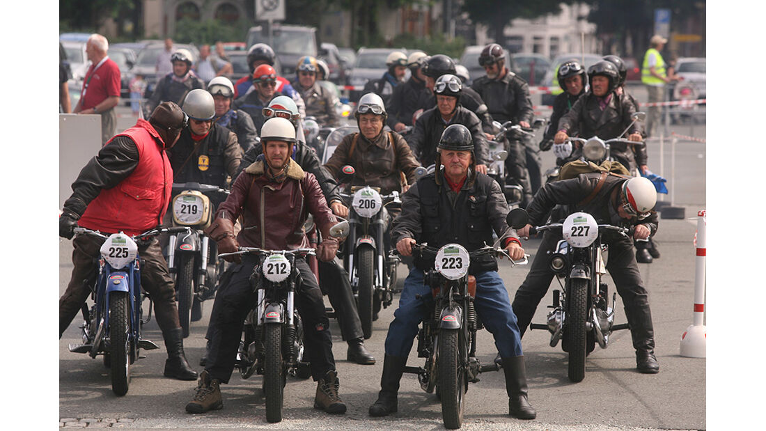 Oldtimer Motorräder