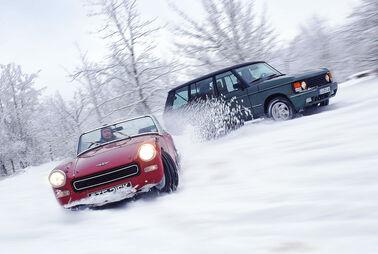 Mit dem Oldtimer im Winter fahren