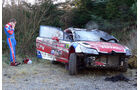 Olgier Unfall WRC Rallye GB 2008