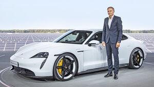 Oliver Blume, Porsche Taycan, Exterieur