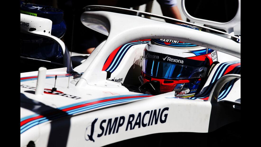 Oliver Rowland - Williams - Formel 1 - Testfahrten - Barcelona - 15.5.2018