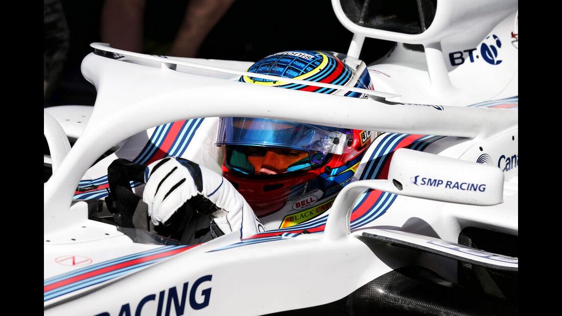Oliver Rowland - Williams - Formel 1 - Testfahrten - Barcelona - Dienstag - 15-5-2018