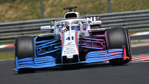 Oliver Rowland - Williams - GP Ungarn - Budapest - F1-Test - 31. Juli 2018