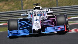Oliver Rowland - Williams - GP Ungarn - Budapest - F1-Test - 31. Juli 2018