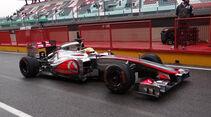 Oliver Turvey  - McLaren - Formel 1-Test - Mugello - 1. Mai 2012