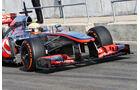 Oliver Turvey - McLaren - Formel 1 - Young Driver Test - Silverstone - 18. Juli 2013