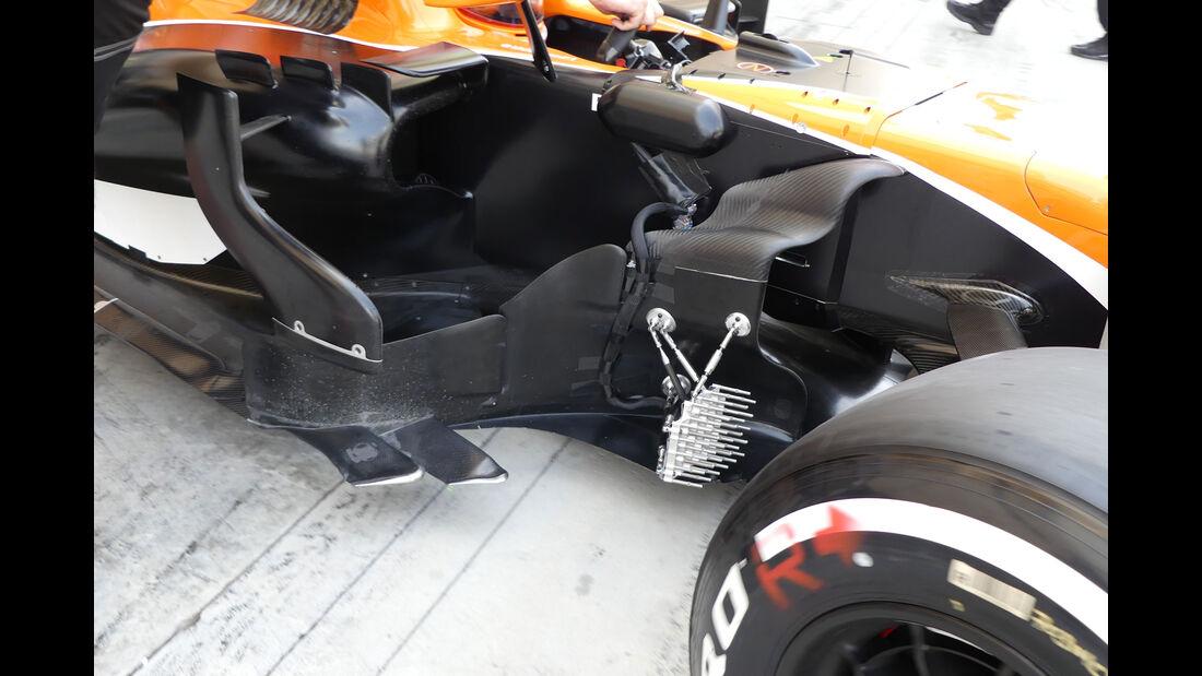 Oliver Turvey - McLaren-Honda - Formel 1 - Testfahrten - Bahrain International Circuit - Dienstag - 18.4.2017
