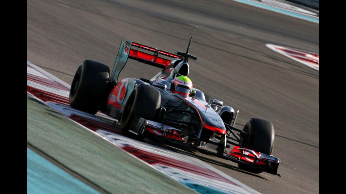 Oliver Turvey - McLaren - Young Driver Test - Abu Dhabi - 17.11.2011