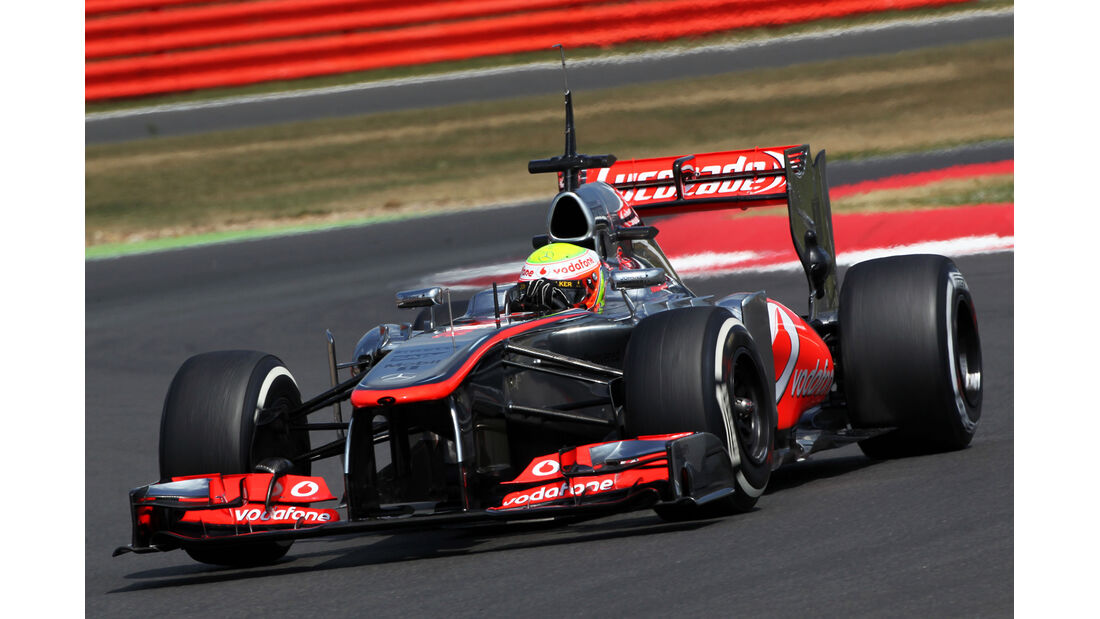 Oliver Turvey - McLaren - Young Driver Test - Silverstone - 18. Juli 2013