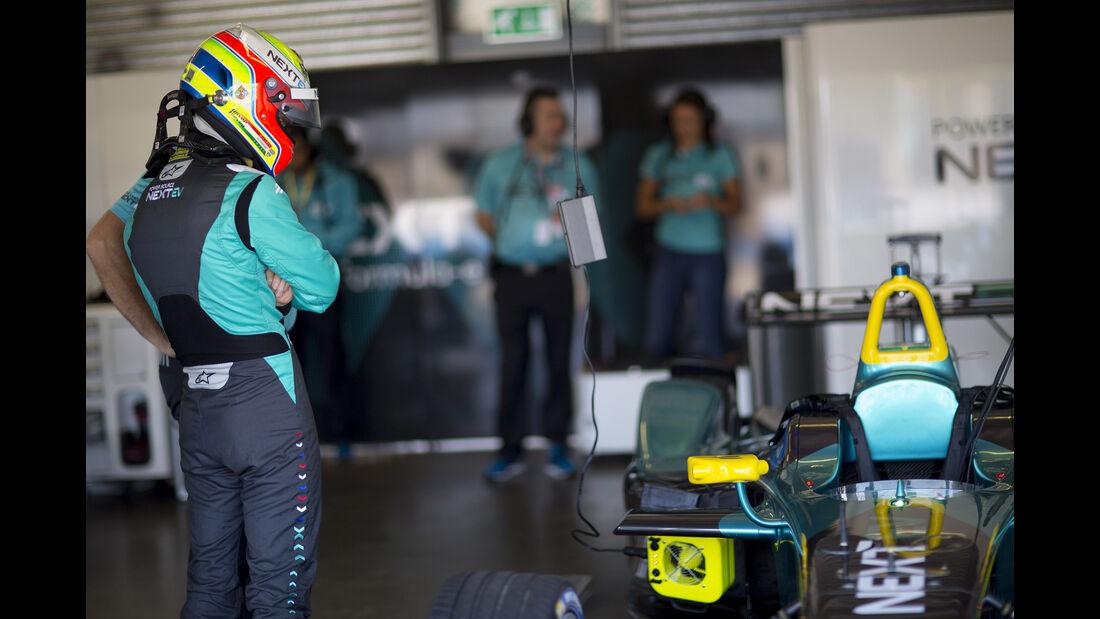 Oliver Turvey - Nextev- Formel E Test - Donington - 2016
