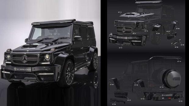 Onyx Tuning Mercedes Widebody G7