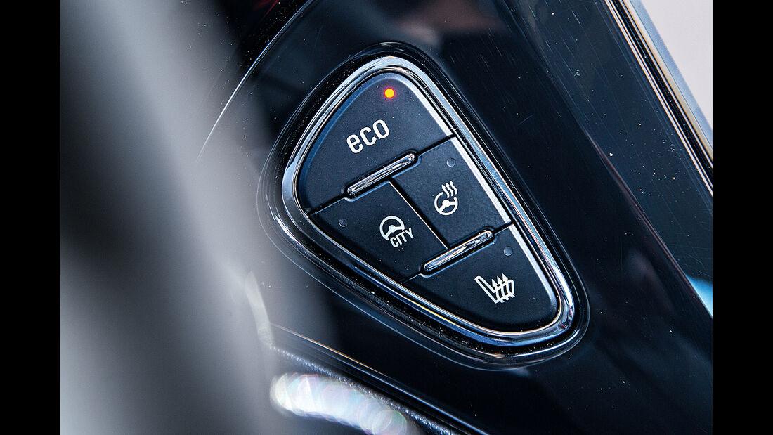 Opel Adam 1.0 DI Turbo, Bedienelemente