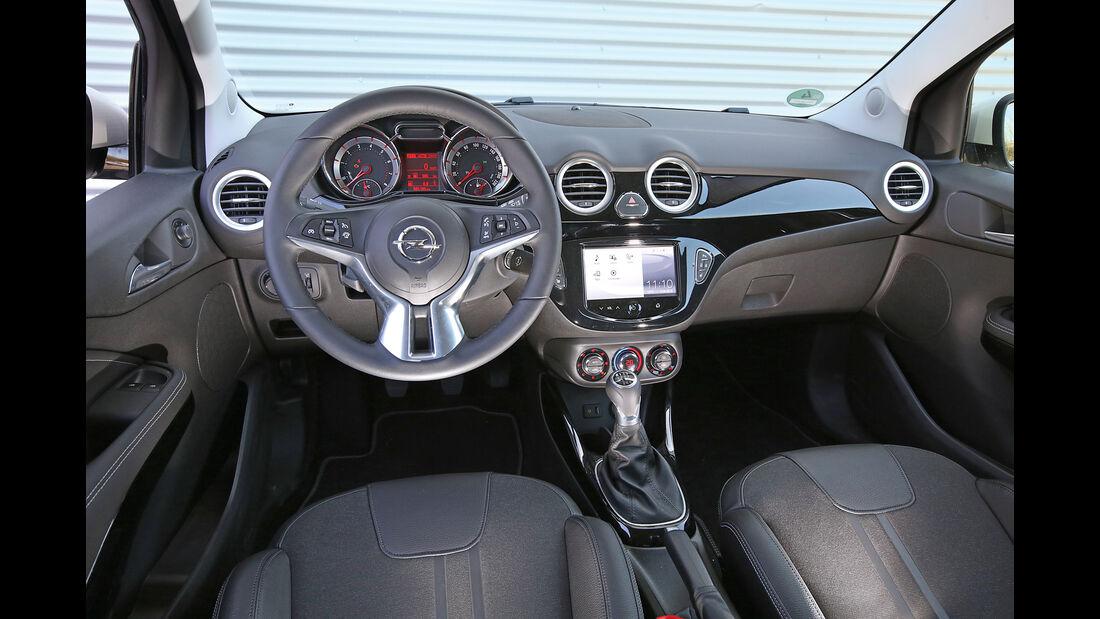 Opel Adam 1.0 DI Turbo, Cockpit