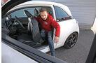 Opel Adam 1.0 DI Turbo, Fondsitz, Aussteigen