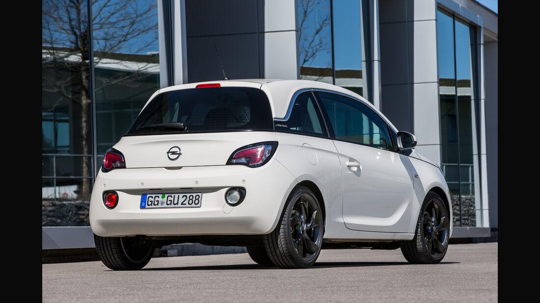 Opel Adam 1.0 DI Turbo, Heckansicht