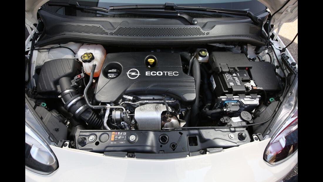 Opel Adam 1.0 DI Turbo, Motor