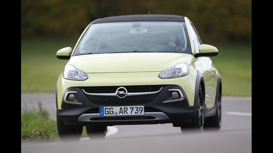 Opel Adam 1.0 DI Turbo Rocks, Frontansicht