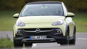 Opel Adam 1.0 DI Turbo Rocks, Frontansicht