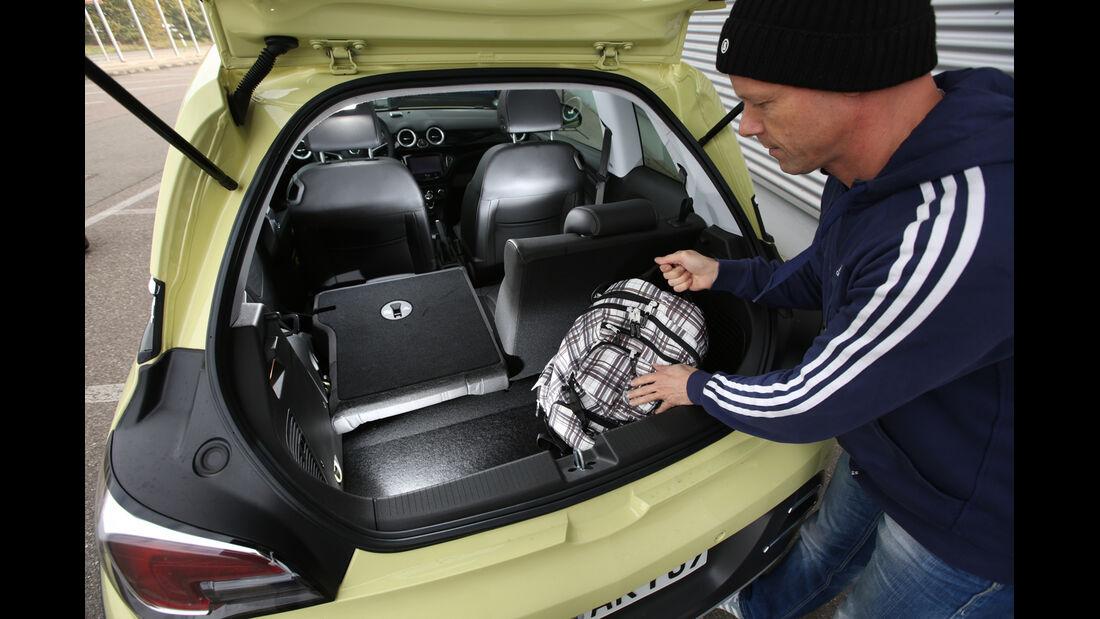 Opel Adam 1.0 DI Turbo Rocks, Kofferraum