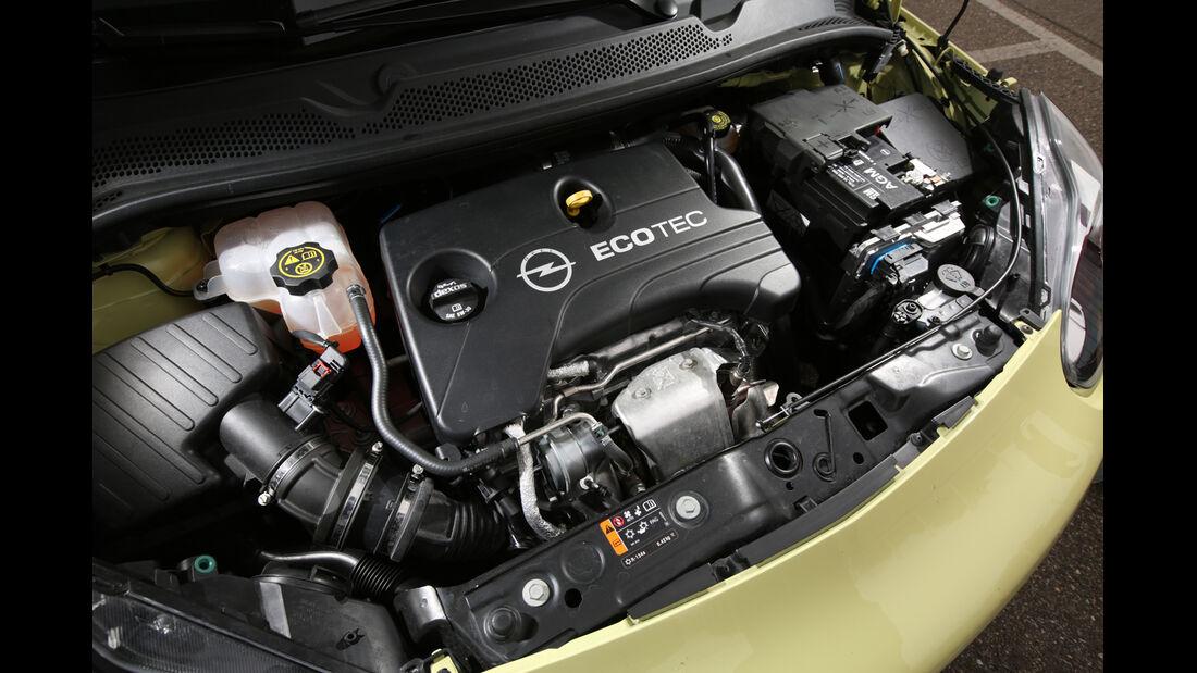 Opel Adam 1.0 DI Turbo Rocks, Motor