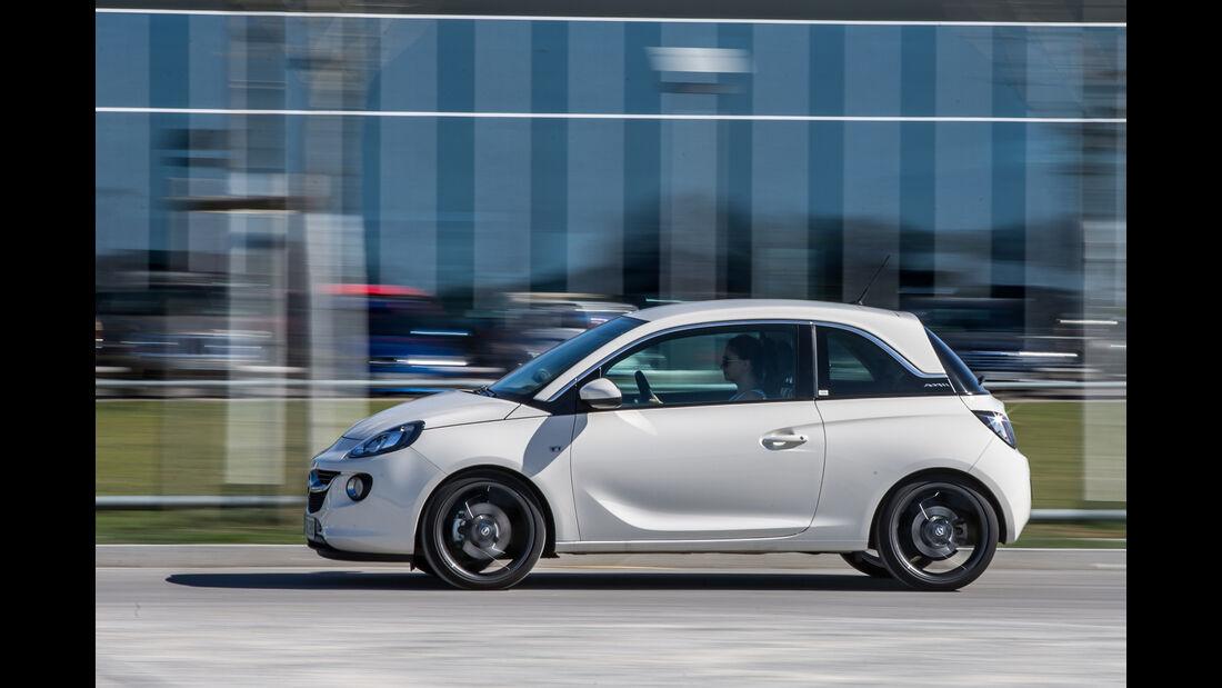 Opel Adam 1.0 DI Turbo, Seitenansicht